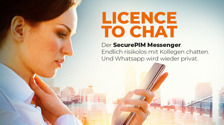 SecurePIM Messenger Image
